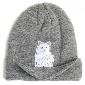 13 Color Autumn Winter Spring Beanie New Style Cat Wool Knit Hat Hip Hop  Hedging Men Women  25530 378dc648e9c1