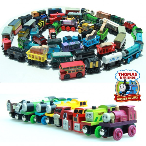 Ipics Wooden Magnetic Thomas And Friends The Tank Engine Circus Donald Lady Skarloey James Gordon 46069