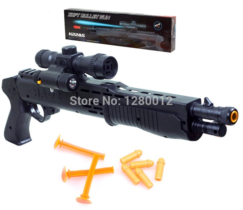 Hot Sale Nerf Guns With Flashing Night Light Collimator Toy Guns Classic  Toys For Boys Man Role #73591 | 4me.click