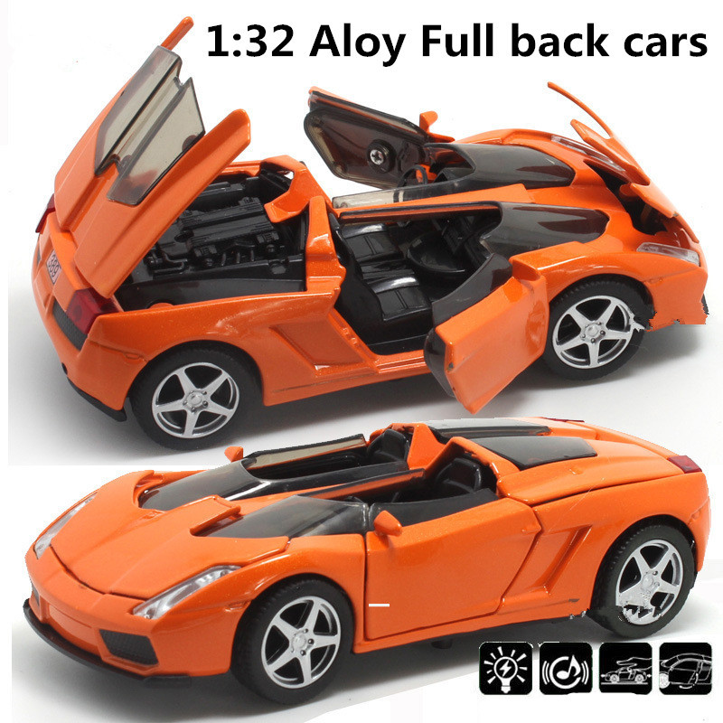 Best Quality Supercar 1:32 Alloy Model,pull Back Toy Car,blue ...