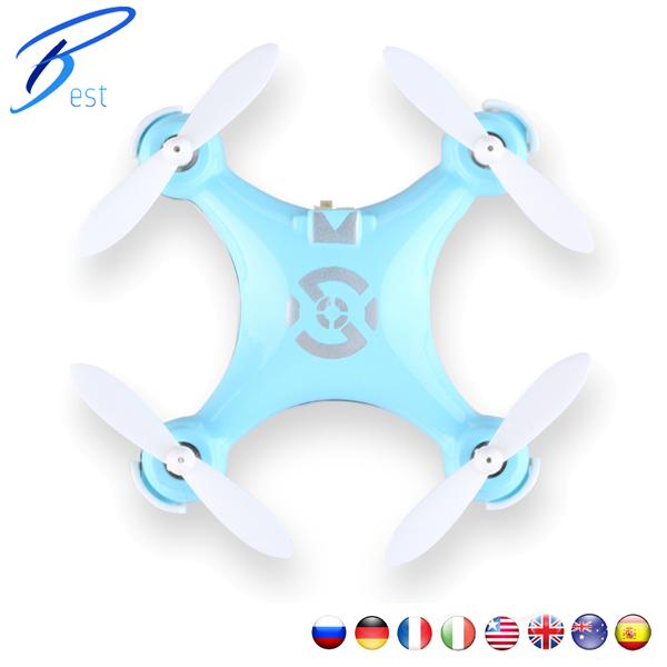 Cxhobby Cx-10 Nano Quadcopter Rtf Mini Drone – 4 Channel 6 Axis Gyro 360 Degree Stunt 2.4G Rc #53652