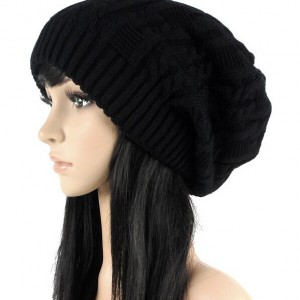 Fashion Warm Autumn Winter Knitted Hat Women Stripes Skullies Beanies South  Korean Version Of The  66802 2b46db752ac3