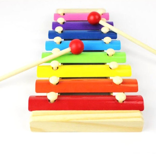 Baby Kid 4 Note Xylophone Musical Toys Wisdom Development Inspire Kids Children
