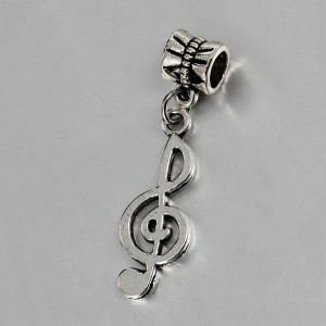 charm pandora nota musicale
